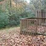2 - back porch yard